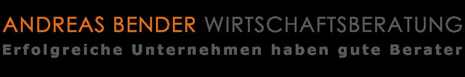 ANDREAS BENDER WIRTSCHAFTSBERATUNG